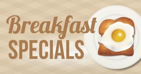 $5.99 Breakfast Special